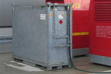 Kraftstofftanks für Mietaggregate