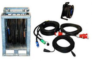 KAbel für Stromaggregate zum Mieten