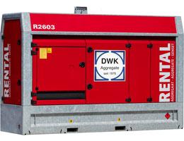 Mietaggregat 150 kVA