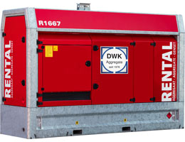 Mietaggregat 200 kVA