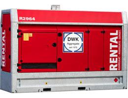 Mietaggregat 250 kVA