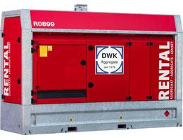 Mietaggregat 300 kVA