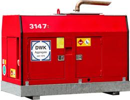 Mietaggregat 50 kVA
